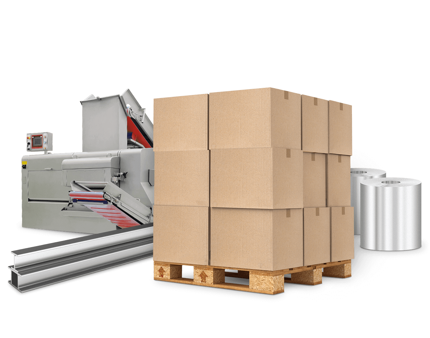 Shipping for industrial products
